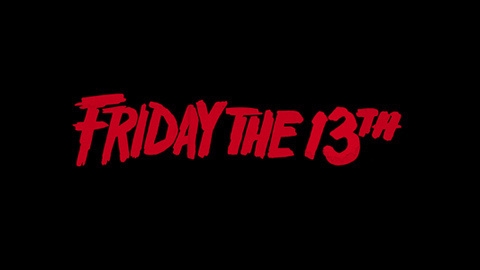 Friday the 13th 1980 movie poster logo #movie #80s #typography