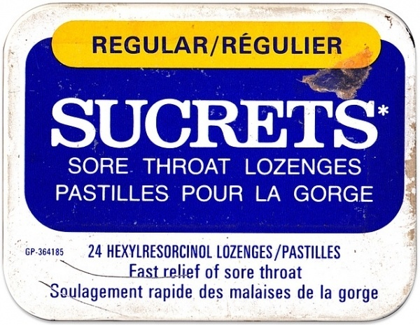 Pastilles pour la gorge | Flickr - Photo Sharing! #package #typography