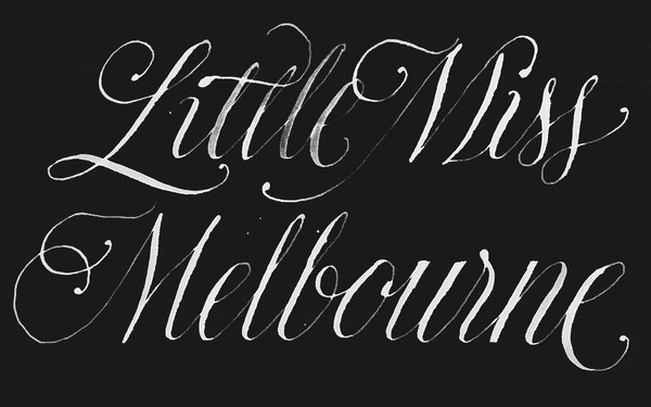 Dave Foster #calligraphy #lettering #dave #foster