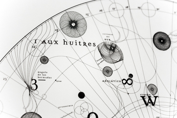 Cartola on Behance #infographic #detail #blackwhite #maps