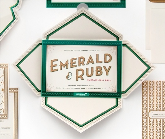 Children's Theatre Co: Emerald & Ruby on the Behance Network