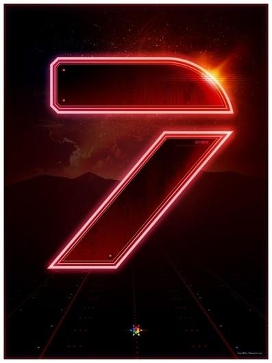 Signalnoise.com - The art of James White #white #tron #design #graphic #signalnoise #james #seven #poster