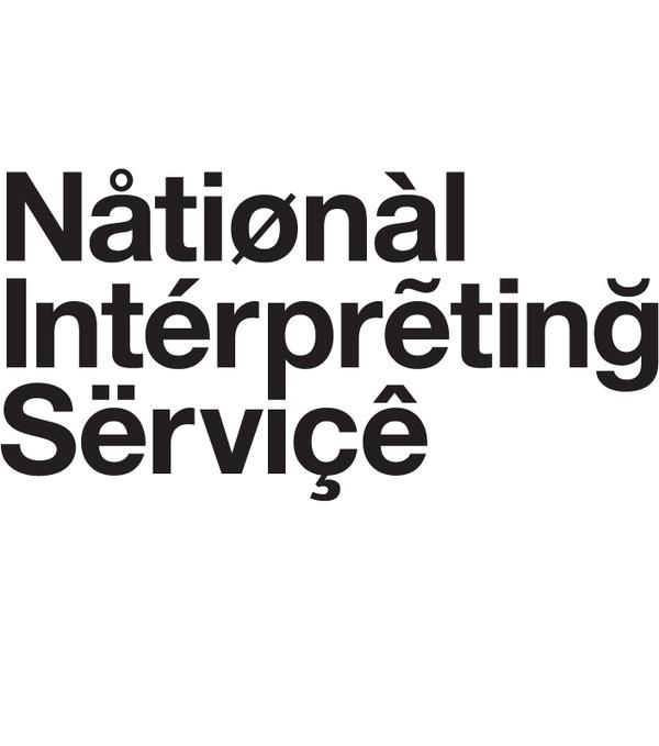 Browns Design, National Interpreting Service, Identity #branding #design #graphic #conceptual #logo #typography
