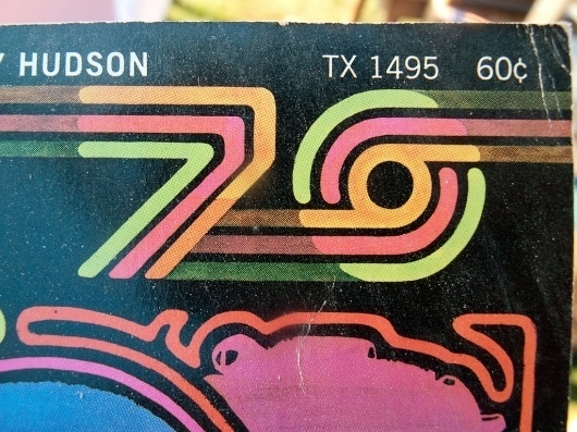 70s Vintage Type made of lines