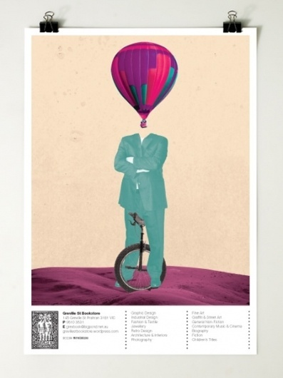 Greville St Bookstore : Motherbird #post #surreal #poster