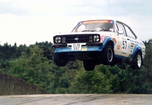 Nice car... #rally #escort #ford