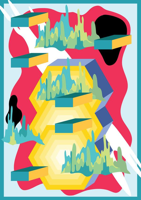 15 #abstract #natalya #design #illustration #poster #serkova