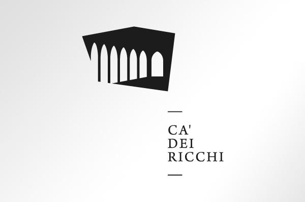 CÃ dei Ricchi on Behance #history #branding #corporate #brand #identity #palace