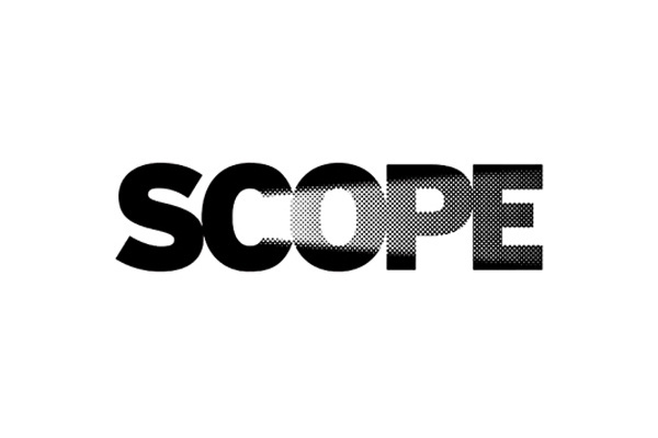 scope #logo #black and white #negative space #scope