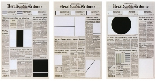 We Find Wildness #modern #shapes #newspaper #grid #layout