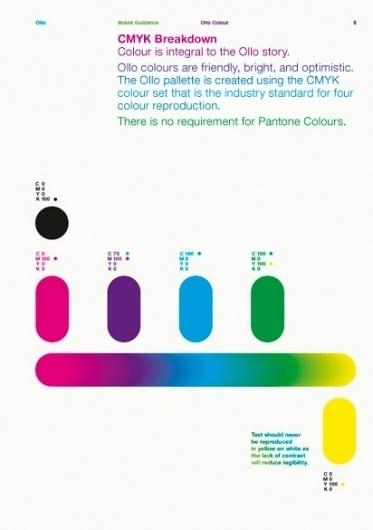 Ollo | Bibliothèque Design #brand #design #graphic #guidelines