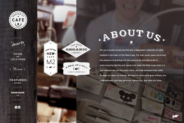 morganstreetcafe.com by Hannah Lee #web