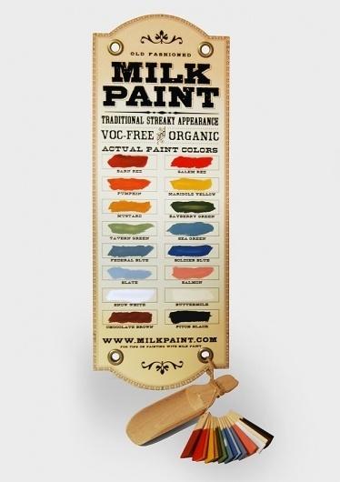 Dawn Steinbock Design #milk #paint #color