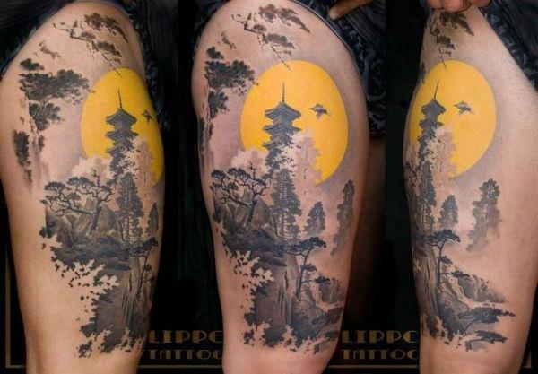 Tattoo by Lippo Tattoo in Frosinone, Italy #tattoo