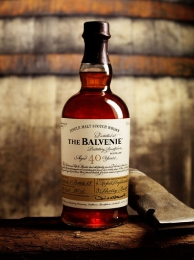Tiffany Denise #whiskey #a #scotch #malt #signed #label #the #balvenie #single #with