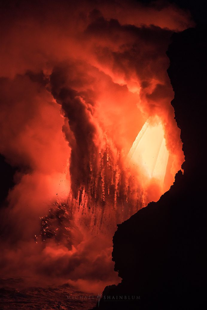 Magnificent Images of Spewing Lava in Hawaii – Fubiz Media