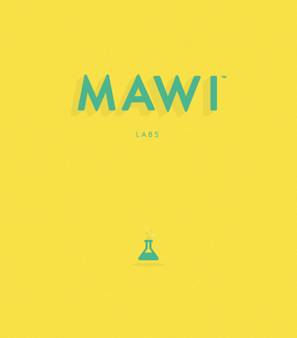 MAWI Labs / ID + Illustrations on Behance #mawi labs #type #summer