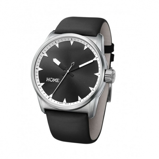 C-CLASS CLASSIC BLACK / tan - hOme watches and more #swiss #home #watch