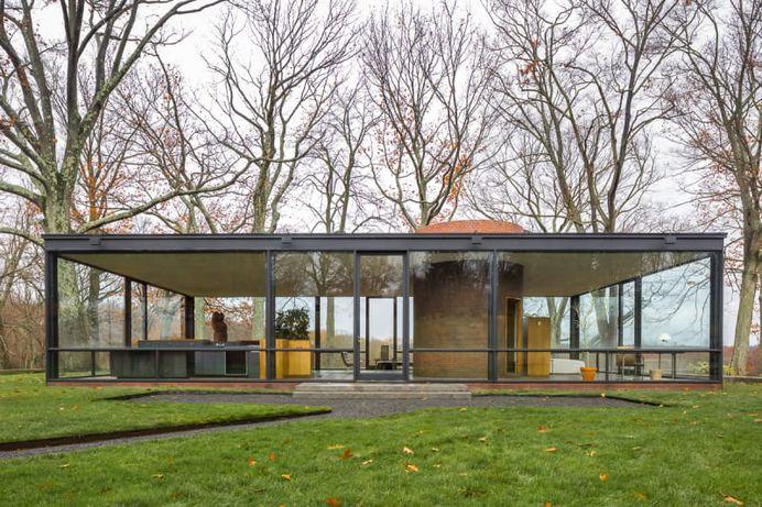 Philip Johnson, Simón García · Glass House