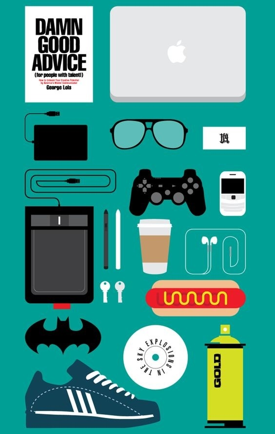 What's in your studio? Photo by Kareem Gouda on Behance