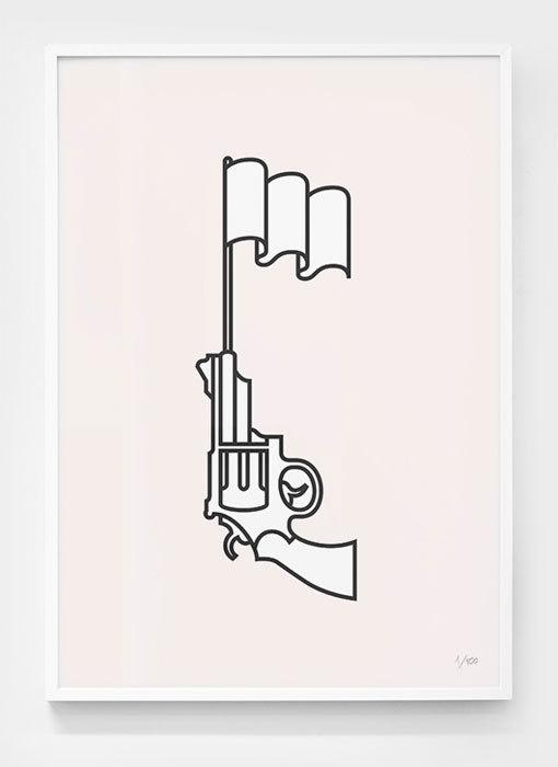 Marco Goran Romano: GQ Germany Illustrations #gun #illustration #vector