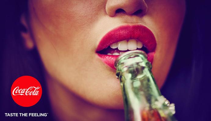 Corporate image of Coca-cola #corporate #identity #image #coke