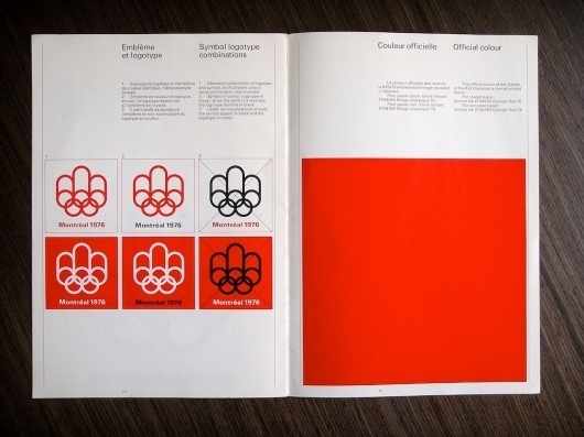 All sizes | 1976 Montreal Olympics Basic Logo Standards | Flickr - Photo Sharing! #1976 #montreal #design #graphic #logo #olympics