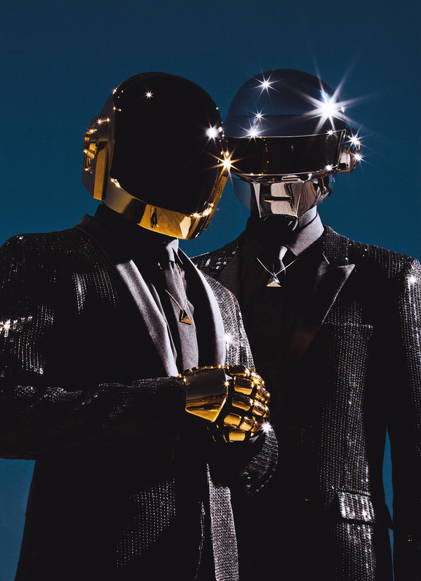 Unbelievable images of Daft Punk in Feature for Pitchfork #daft #punk #photography