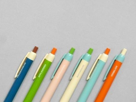 Present&Correct - Colour Block Pen #plastic #colour #pen