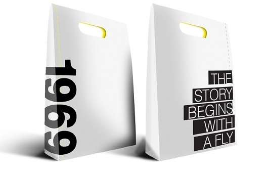 Mario Cubillos | Creative #packaging #bag #blackwhite