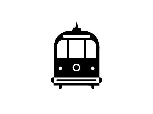 Streetcar Icon. #mysterymeat #streetcar #logo #icon #design
