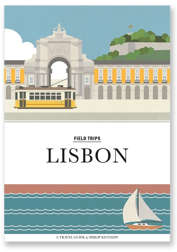 Lisbon Travel Guide illustrations by Philip Kennedy #guide #design #illustrations #portugal #lisbon #trave