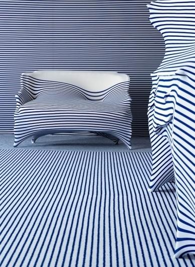 Jean Paul Gaultier talks to Yatzer | Yatzer™ #interior #sofa #stripes #design #jean #gaultier #paul