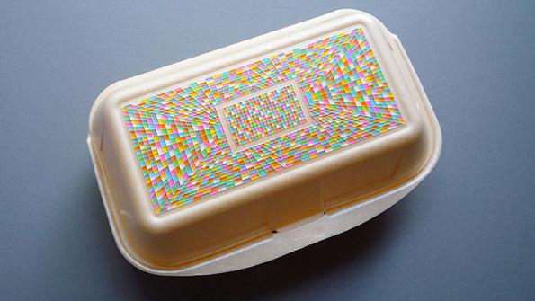 Kebabbox #illustration #sculpture #disposable