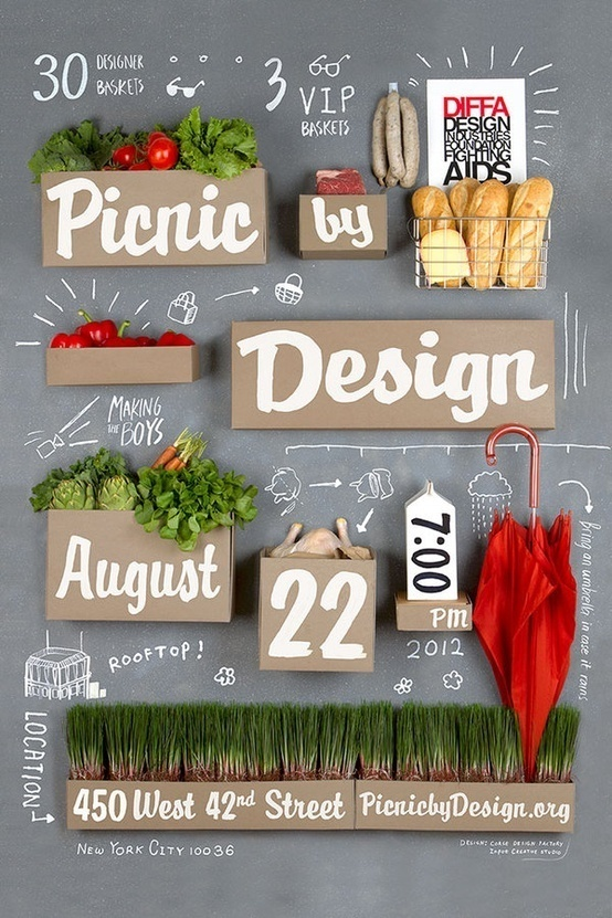 poster (by Input Creative Studio) #type #photography #poster #food