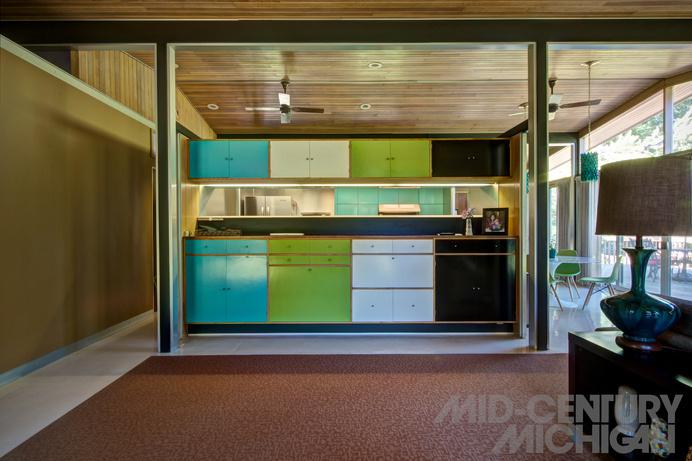 Charles Goodman - Alcoa Care Free Home 21 #interior #modern #architecture #mid #century