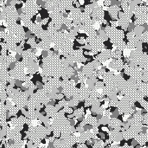 Sulki & Min #pattern #camouflage #macpaint #gif #8bit
