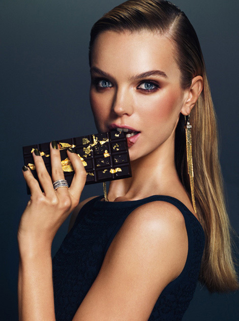 Aurelia Gilwska by Andrew Yee for Henri Bendel Campaign #fashion