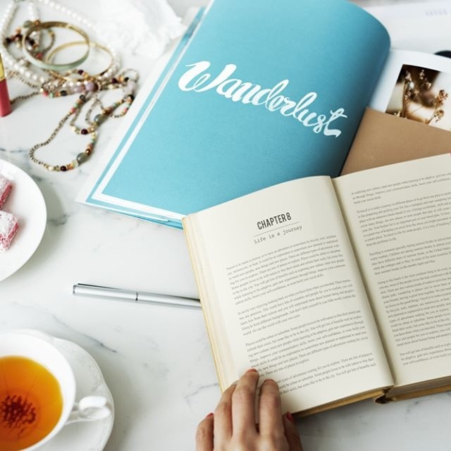 Reading. #Sample - Be inspired by Rawpixel.com #book #read #reading #storybook #story #knowledge #realimage #social #branding #socialmedia