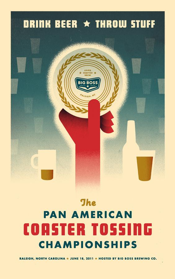 Pan American Coaster Tossing Championships — McKinney #big #boss #poster