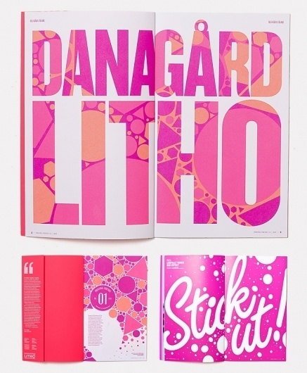 DanagårdLiTHO | Snask – Design, Brand & Film agency that creates the ♡ and soul of brands #design #graphic #snask #identity #typography