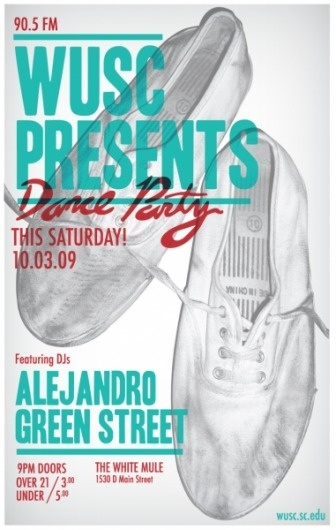 WUSC 90.5FM : McKenna Kemp #gig #poster #typography