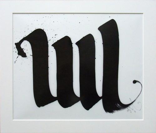 LUL « PICDIT #calligraphy #type #black #lul