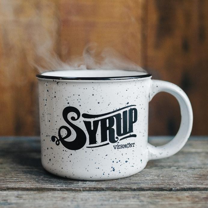 Syrup Speckled Camp Mug – Syrup Souvenir Shop #photography #vintage #typography