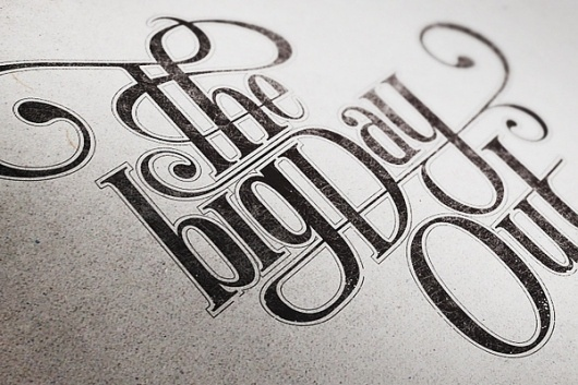 Typography Projects 2 on the Behance Network #lettering #typography