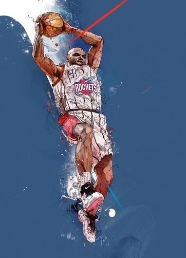 Sport Illustrations on the Behance Network #illustration