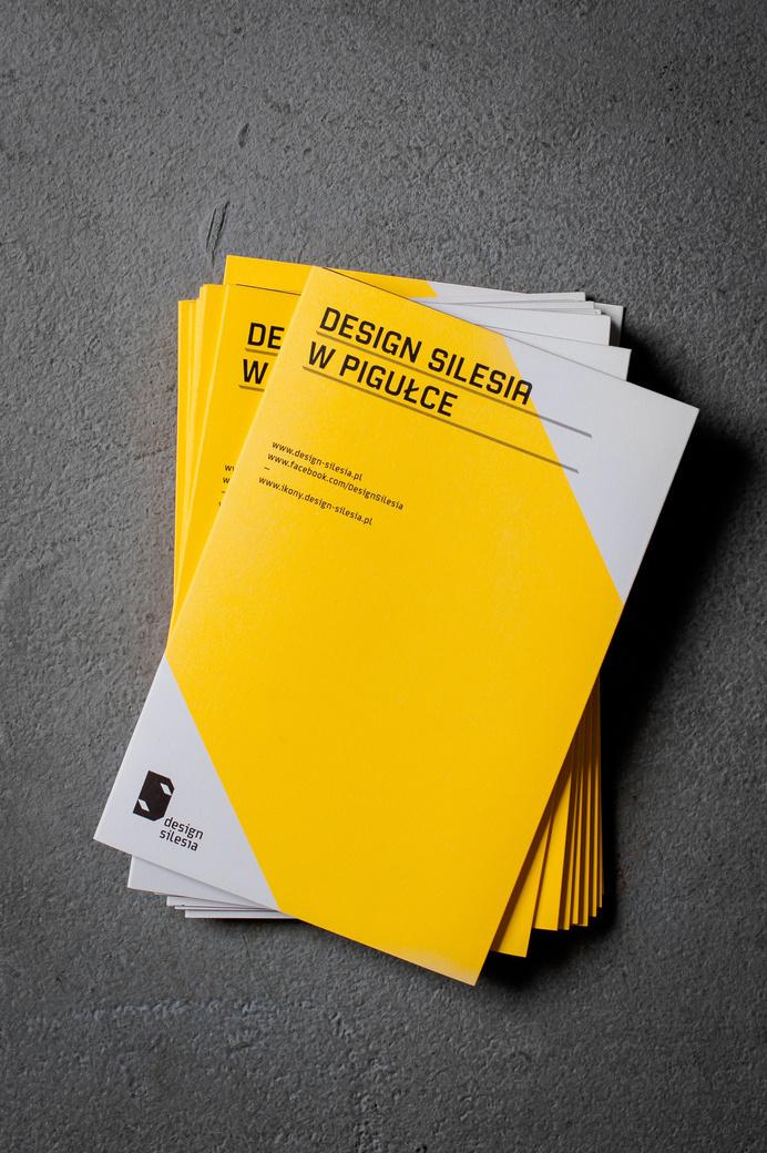 Design Silesia – brochure #typeface #font #uppercase #caps