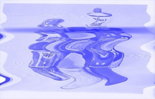 Jack Walsh #artwork #paint #jack #purple #blue #warp #scan #cans #walsh