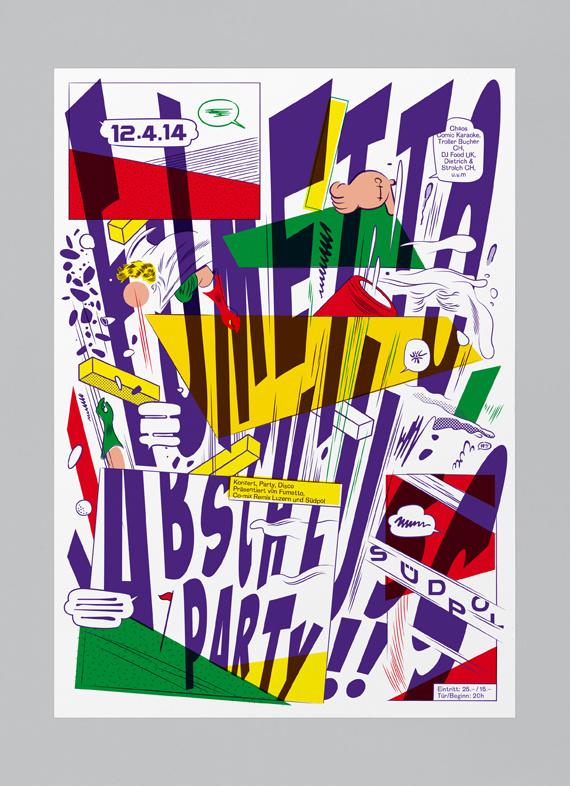 Südpol 11-14, Felix Pfaffli #poster