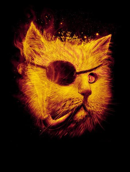 Irie Eye byNicebleed #illustration #cat